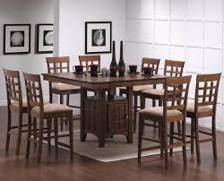 9 piece pub style dining set