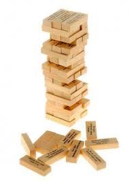 <b>Настольная игра Нескучные</b> игры Башня с заданиями для ...