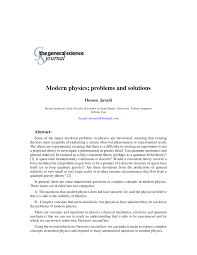 modern physics problems and solutions pdf available