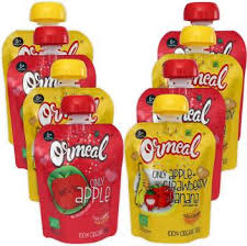 Ormeal <b>Organic Baby Food</b> Puree Combo Pack (4+4) Cereal Price ...