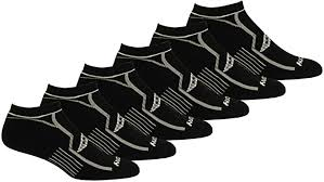 Saucony Men's Multi-Pack Bolt <b>Performance</b> Comfort Fit <b>No</b>-<b>Show</b> ...