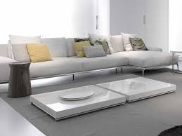 table double living room furnitureoutstanding square shape double white low coffee table for li