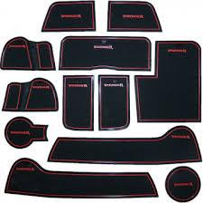 <b>Коврики</b> в подстаканники и дверные <b>ниши</b> для Kia Sportage III