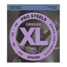 <b>Струны</b> для бас-гитар <b>D'Addario EPS190</b> ProSteels купить в Санкт ...