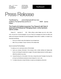 46 press release format templates examples samples template lab press release template 02