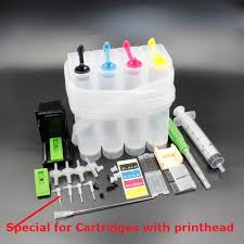 XIMO <b>DIY CISS for 4 color</b> printers, with ink tube bend,needle, drill ...