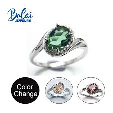 <b>Bolaijewelry</b>,<b>Zultanite rings 925 sterling</b> sliver fine jewelry oval 6 ...