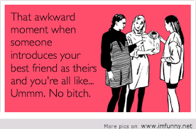 Awkward Friend Memes via Relatably.com