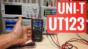 Компактный <b>мультиметр UNI-T UT123</b> с инверсионным дисплеем ...
