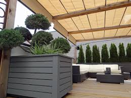 Small Picture Roof Deck Pergola Retractable Shade Urban Landscape Garden Design