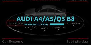 Audi Drive Select (ADS) <b>for Audi A4</b>/<b>A5</b>/Q5 B8 - Carista Blog