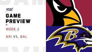Arizona Cardinals vs. Baltimore Ravens Week 2 NFL Game Preview ...