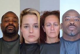 "From lef, Cecil Hubbert, Sloane Book, Jessica Bomford and Chad Blunt. Once or twice a year, the ""North Florida High Intensity Drug Trafficking Area ... - arrests-may-2014"