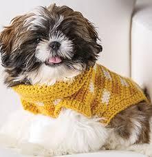 11 Free Crochet <b>Patterns</b> for <b>Dog</b> Sweaters