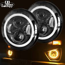 <b>CO LIGHT 7 Inch</b> Led Headlight H4 DRL Round 7'' Headlights with ...