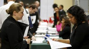 a new law eliminating salary history from job applications is a moushumi paul r of the usda interviews job applicant sherry rose l
