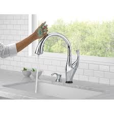 Delta Touch Kitchen Faucet Delta Addison Touchless Single Handle Standard Kitchen Faucet With