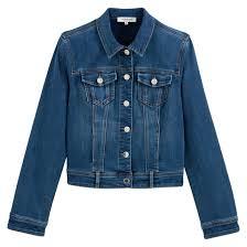 <b>Куртка джинсовая</b> короткая на пуговицах jeans/bleu Morgan | <b>La</b> ...