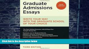 graduate admissions essays donald asher  graduate admissions essays fourth edition by donald asher on ibooks