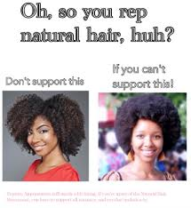 People Are Missing The Point Of The Natural Hair Movement ... via Relatably.com
