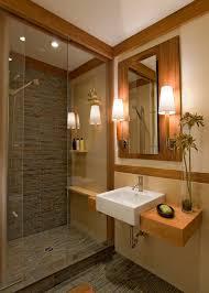 ceramic tile shower bathroom craftsman with asian bamboo bungalow ceramic1 asian bathroom lighting
