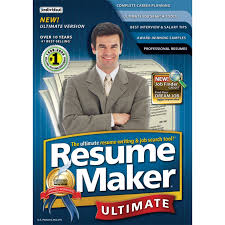 r eacute sum eacute software resumemaker professional ultimate 4