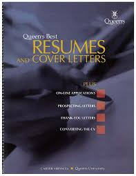 queen s best resumes cover letters career services queen s best resumes and cover letters book cover