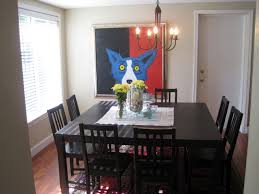 elegant square black mahogany dining table:  amazing dining table elegant small dining room decoration using square also square dining room table