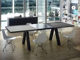 Dining Room Table Top Concrete Dining Room Table Is Also A Kind Of Agreeable Diy