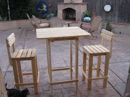 table bar height chairs diy: diy plans to make bar table and stool set by wingsto wood