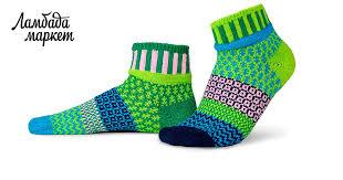 Разнопарные <b>носки</b> Solmate <b>Socks</b> - Sweat Pea в магазине «<b>Sock</b> ...