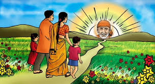 Image result for images of shirdisaibaba in flower fields