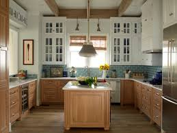 beech wood kitchen cabinets: two tone kitchen cabinets view full size