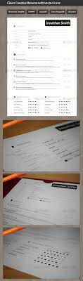 17 best images about resume creative resume chefs clean creative resume vector icons
