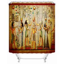 egyptian style bedroom bathroom