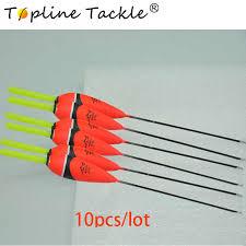 <b>Topline Tackle 10Pcs/Lot</b> Carp Fishing Floats Set Buoy Bobber Stick ...