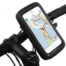 <b>Держатель на руль</b> велосипеда для телефонов до 6.3 дюймов