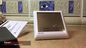<b>Терморегулятор MCS 350</b>. Распаковка, обзор ПО - YouTube