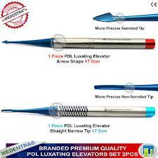 2pcs dental dg16 probe stainless steel periodontal probe with scaler explorer instrument tool endodontic implant