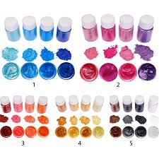 Boom  <b>4 Pcs</b>/<b>set</b> Mixed Color <b>Resin</b> DIY Making Glowing Powder ...