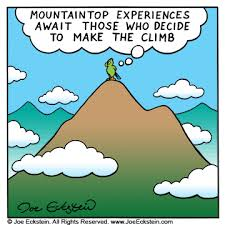 Image result for top of mountain cartoon