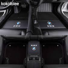 KOKOLOLEE <b>Custom car floor mats</b> for BMW all model 535 530 X3 ...