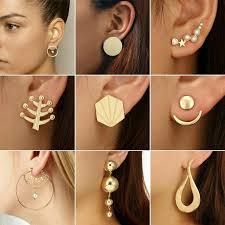 <b>Fashion Simple</b> Chic Geometrical Star <b>Earrings Stud</b> Dangle ...