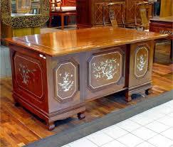 perloff112 rosewood office desk asian office furniture