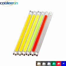 COOLEEON 60*15mm <b>12V</b> 2W <b>COB</b> LED Light Strip Flip Chip 6cm ...