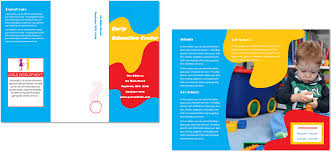 child care brochure template 24 child care owner child care business cards child care folders child care marketing preschool marketing