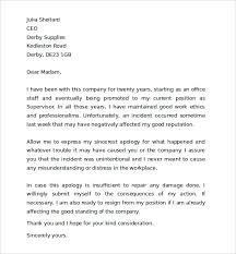 Professional Apology Letter  ending a personal letter apology     Just Letter Templates How To Write Business Apology Letter Sample Cover Letter Templates Sincere Apology Letter Sample        How