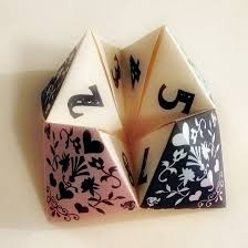 Image result for fortune teller cootie catcher image
