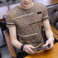 Summer Men Ultra-<b>Thin</b> a <b>Short</b> Sleeve T-<b>shirt Chiffon Shirt</b> Soft ...