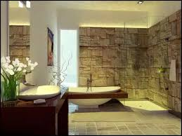 stone bathroom modern natural design nature themed cool modern bathrooms nature themed cool modern bathroom